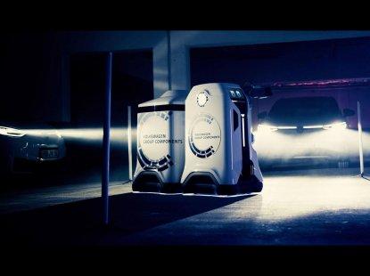 Volkswagen Group unveils Intelligent Electric Vehicle Charging Robot