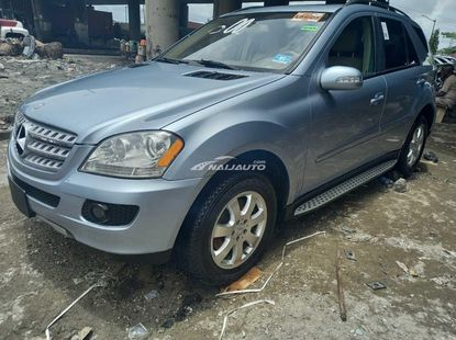 Foreign used 2007 Mercedes benz ml350