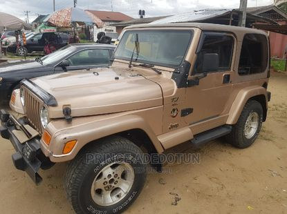 Jeep Wrangler 2004 ₦2,500,000 for sale
