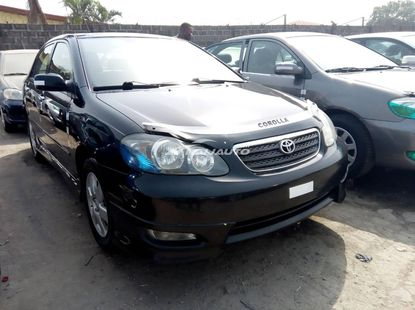 Foreign used 2007 toyota corolla sport