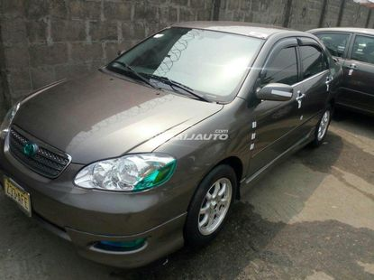 Foreign used 2007 toyota corolla sports