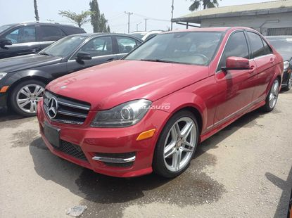 Foreign used 2014 Mercedes benz C300