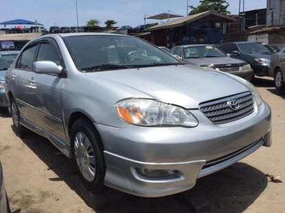 Foreign Used 2005 Toyota Corolla for sale