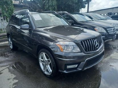 Foreign used 2012 Mercedes benz glk350 4matic
