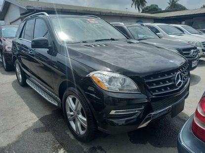 Foreign used 2013 Mercedes benz ml350