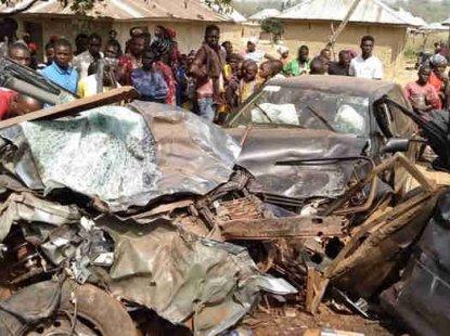 Four killed in Ebonyi auto crash