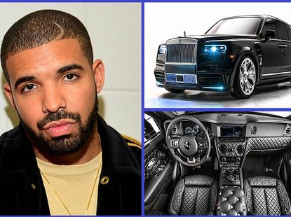 """[Photos] Canadian rapper Drake's One-off Rolls-Royce Cullinan is too """"HOT!"""""""