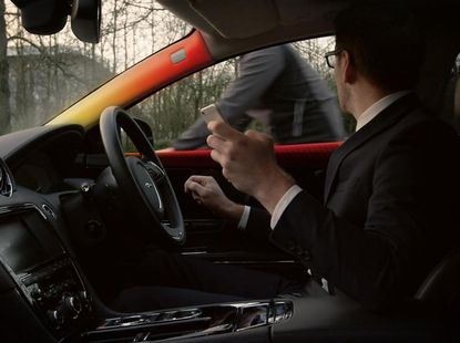 Range Rover Safety Technology will tap you on the shoulder to prevent an accident