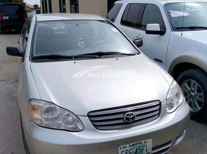 Nigerian Used Toyota Corolla 2003