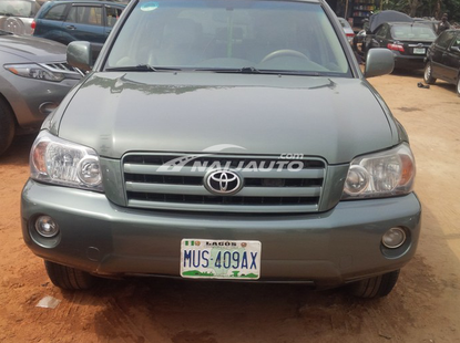 Nigerian Used Toyota Highlander 2006