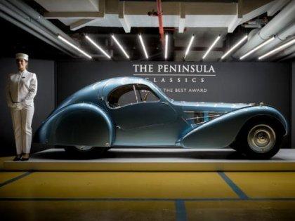 Admire the 1936 Bugatti Type 57sc - the most unique classic car in the world