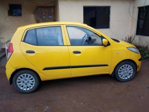Hyundai I10 2008 Yellow