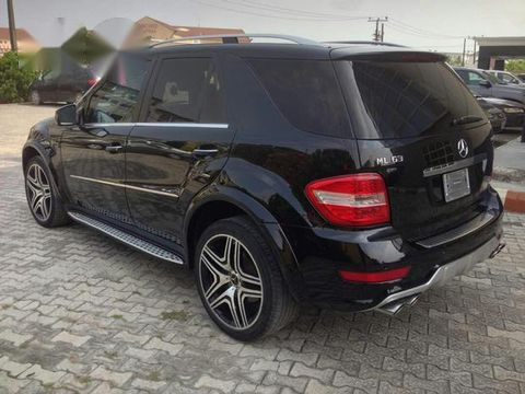 Mercedes Benz Ml63 Amg 2010 Black