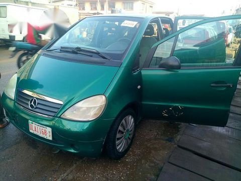 Tokunbo Mercedes Benz A160 2003 Green for sale