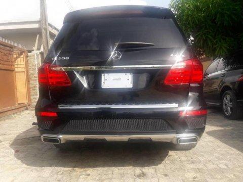 Mercedes-Benz GL550 2014 Petrol Automatic Black