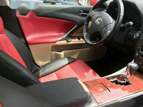 Clean Lexus IS250 2008 Upgraded To 2015 Red