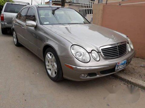 Mercedes-Benz E500 2003 Gray for sale