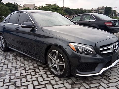 C300 Mercedes 2015 Price >> Used Grey 2015 Mercedes Benz C300 Automatic Car At