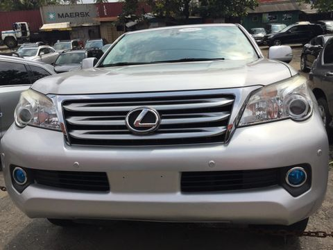 Neat Silver 2011 Foreign Used Lexus GX 460 Jeep for Sale