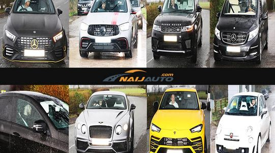 naijauto scoop of manchester united players arriving in different luxury cars for training naijauto com manchester united players arriving