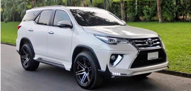 Toyota Fortuner 2017 model