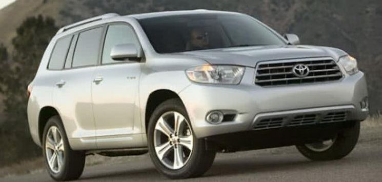 Toyota Highlander 2008 model: Price, Pictures, Interior, Problems & More